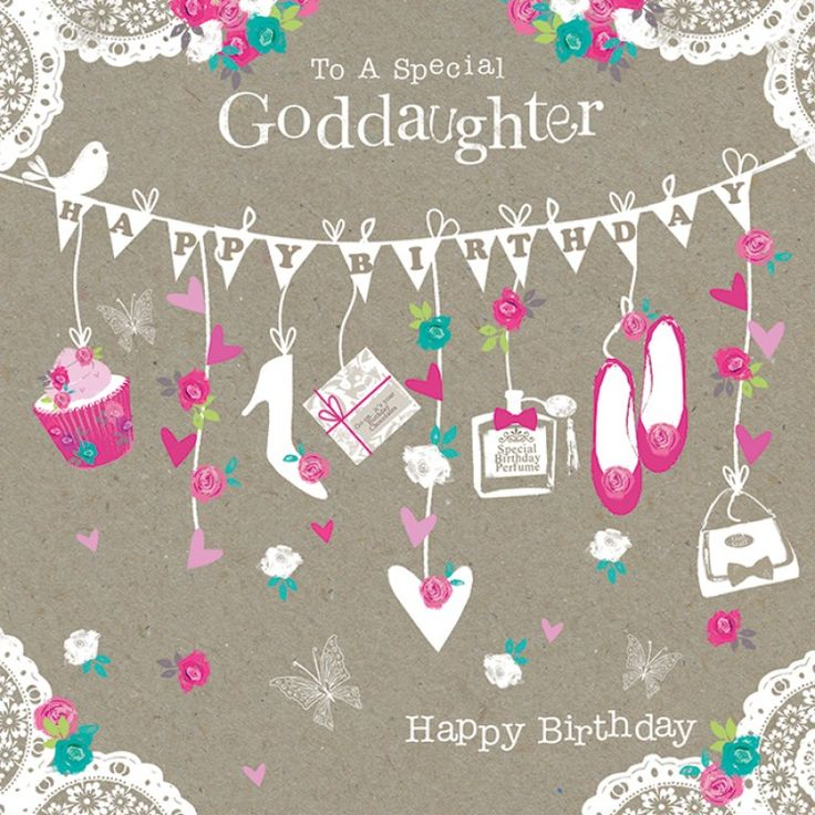 Birthday Goddaughter Happy birthday quotes, Funny happy