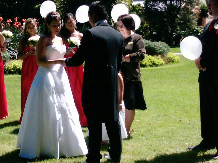 Circle ceremony... If you would like the wording feel free to email me. .... Contact me for marriage celebrant services, Australia...