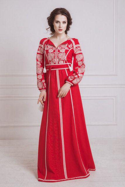 Стильна сукня вишиванка  8d94c61a7f2f8