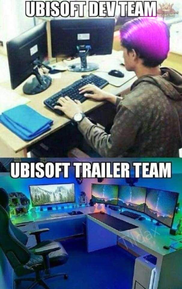 UBISOFT team (с изображениями)   Смешные мемы, Мемы, Смешно