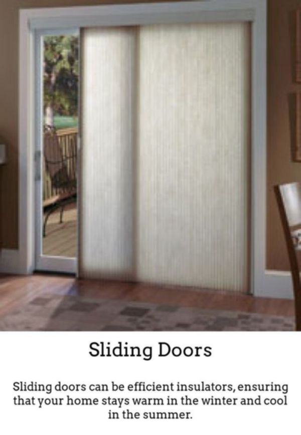 Sliding Doors Have Stylish Bright And Vivid Spaces By Using