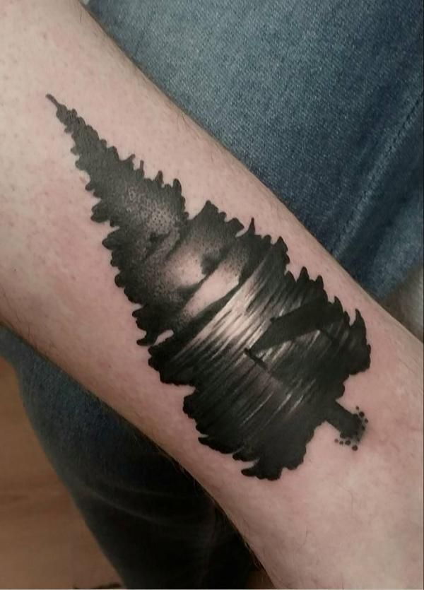 the 25  best ideas about lake tattoo on pinterest