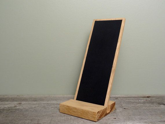 Modern Hand Held Chalk Board Tablet with Stand by TheHomeMarket
