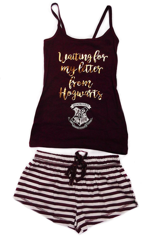 Mesdames filles Harry Potter Carte du Maraudeur Ensemble pyjama pour homme et pour femme Ivoire & Noir: Amazon.fr: Vêtements et accessoires