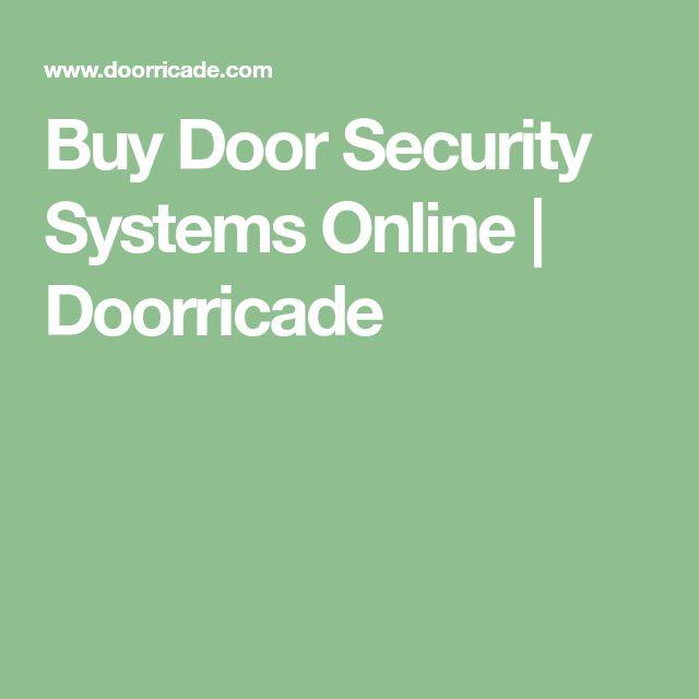Buy Door Security Systems Online | Doorricade