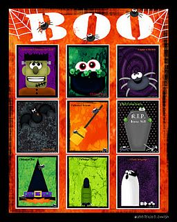 112 best halloween games images on pinterest halloween crafts halloween birthday and halloween stuff - Preschool Halloween Bingo