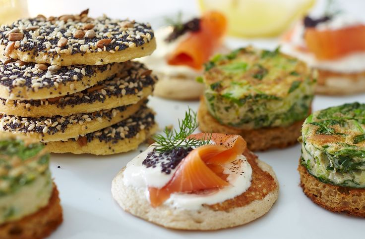 The 25 best ideas about smoked salmon blinis on pinterest for Gluten free canape ideas