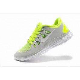 Nike Free 5.0+ Unisex Lysgrå Grønn | Nike sko tilbud | Duty-free Nike sko på nett | Nike sko nettbutikk norge | ovostore.com