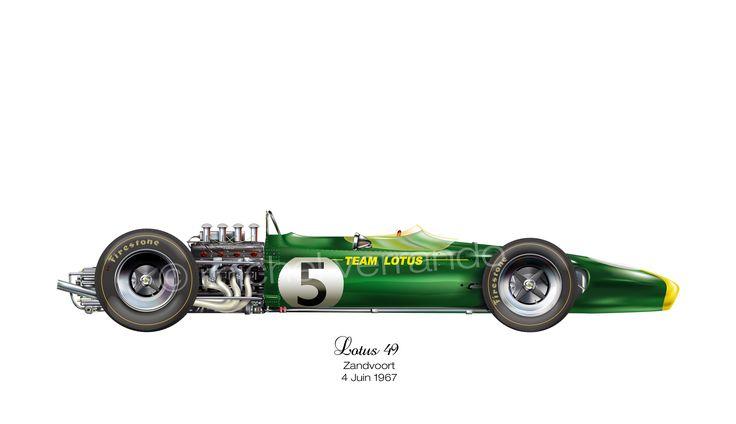 Lotus 49 - Zandvoort - 1967