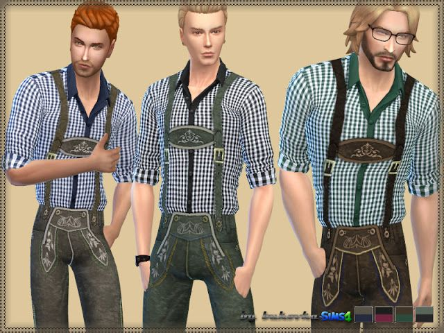 Sims 4 CC's - The Best: Oktoberfest Clothing by Bukovka
