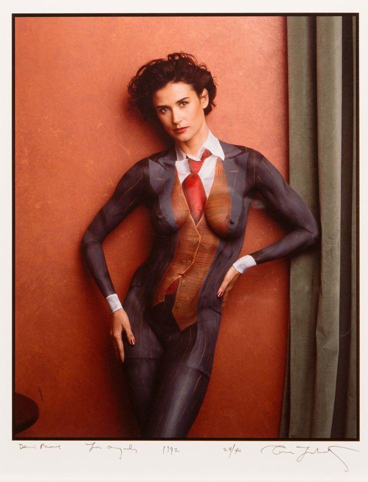 Annie Leibovitz, Demi Moore, Los Angeles, California, 1992.