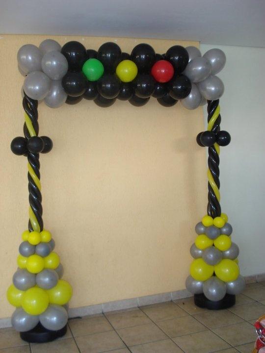 Arco de Semáforo #balões #bexiga #semáforo #Akos #AkosFaz #AkosEventos