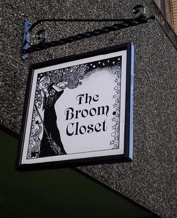 The Broom Closet Salem Massachusetts. LOVE this store...where I first discovered Halloween incense! SW
