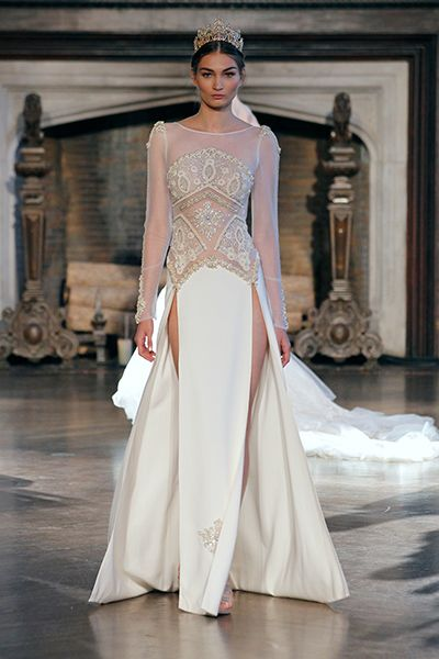 Wedding gown by Inbal Dror