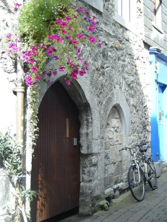 Ireland Fall 2010 - doorway in Galway #Ireland
