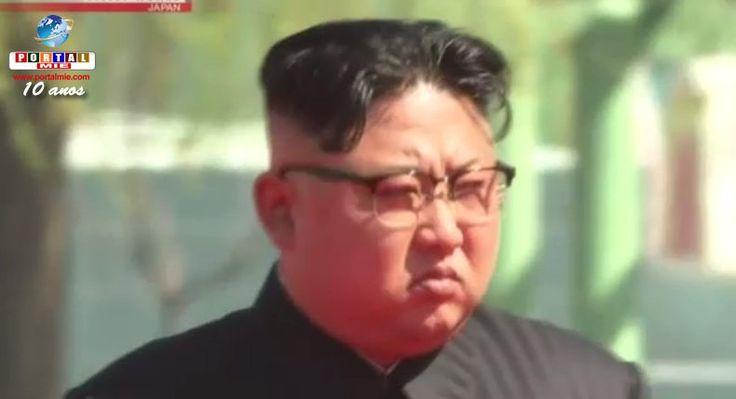 """A Coreia do Norte alertou que o Japão pode ser alvo em um ataque de míssil se """"persistir em agressividade"""" em relação ao Norte. Veja mais."""
