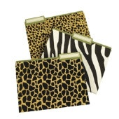 Animal Print Folders - I have zebra ones in my classroom :)