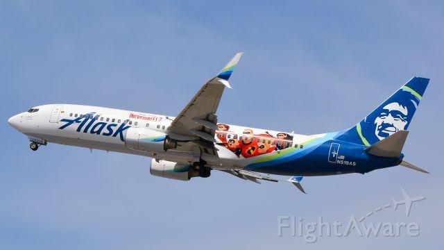 Alaska, Boeing 737-800 (N519AS)