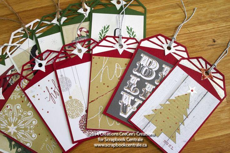 Scrapbook Centrale: Jour 12 * Douze jours de Noël / Day 12 * Twelve Days of Xmas!
