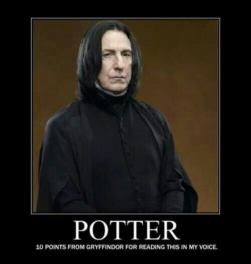 Harry Potter Meme #harrypotterfunny #snape