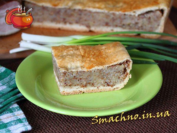 Картопляно-гречаний пиріг