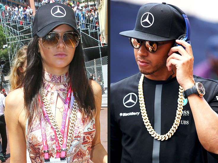 Kendall Sparked New Romance Rumors With Lewis Hamilton