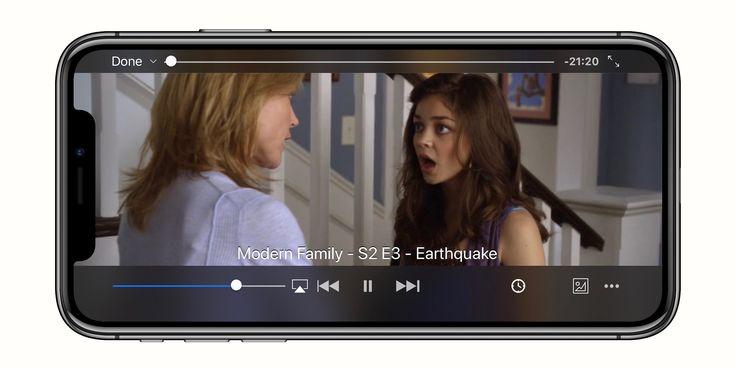 VLC media player para iOS ahora optimizado para el iPhone de pantalla de X, HEVC 4K videos