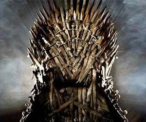 Rule over the seven kingdoms of suburbia with this Game Of Thrones replica Iron Throne. Just like the real throne, it won't be easily acquired - but if you're...