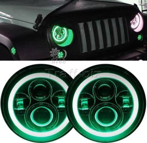 neon green jeep accessories