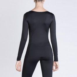T-shirt a manica lunga Anyou, tonifica la pelle, migliora la microcircolazione, riduce l'acido lattico.Indossala per il fitness e per il tempo libero! Euro74! Solo su www.anyou.com .Shop now! #fitness #beauty #forma #shame #anticellulite #tshirt #palestra