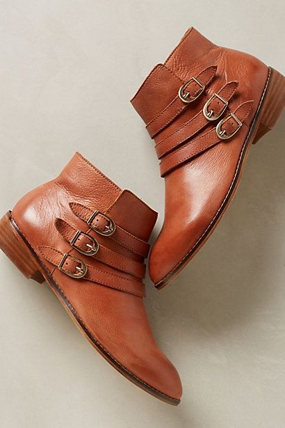 Buckle booties #Anthrofave