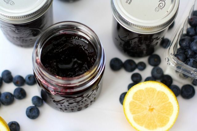 LEMON BLUEBERRY JAM: Butter With A Side of Bread