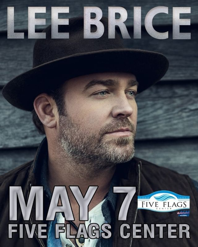 Concert Announcement Country Superstar Leebrice Returns To Five Flags May 7 If You Were Here For His Show In February Of 2018 You In 2020 Lee Brice Concert Superstar