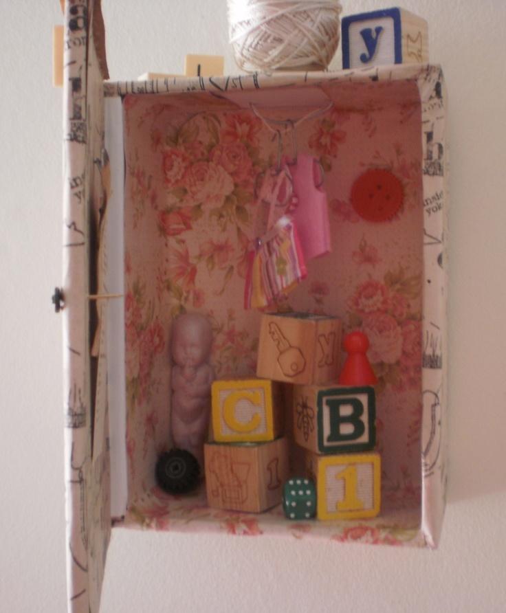 Inside detail of 'Childs Play' 2013 Karin McCombe Jones, NZ Artist