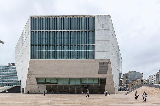 Дом музыки в Порту, архитектор Рем Колхас, 2005