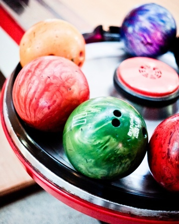 A post-dinner bowling trip is the perfect rehearsal dinner activity...what a cute idea @Amanda Robinson!  Everyone could participate!  :)