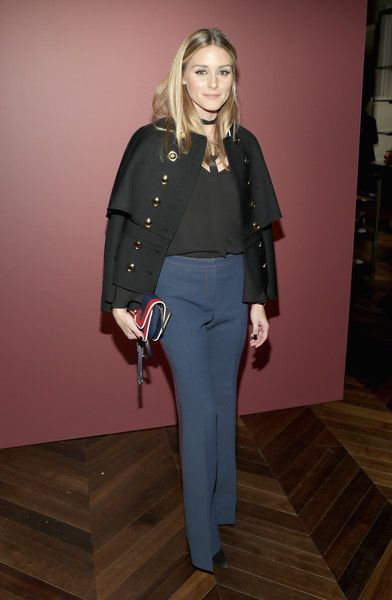 Olivia Palermo Photos Photos - Olivia Palermo attends the celebration of 'The Tale of Thomas Burberry' with Sienna Miller and Dominic West at Burberry Soho on November 14, 2016 in New York City. - Sienna Miller and Dominic West Celebrate 'The Tale of Thomas Burberry' in New York