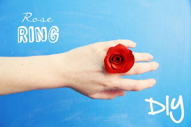 DIY: rose ring