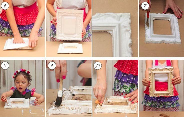 Las 25 mejores ideas sobre marcos de cuadros hechos a - Cuadros originales hechos a mano ...