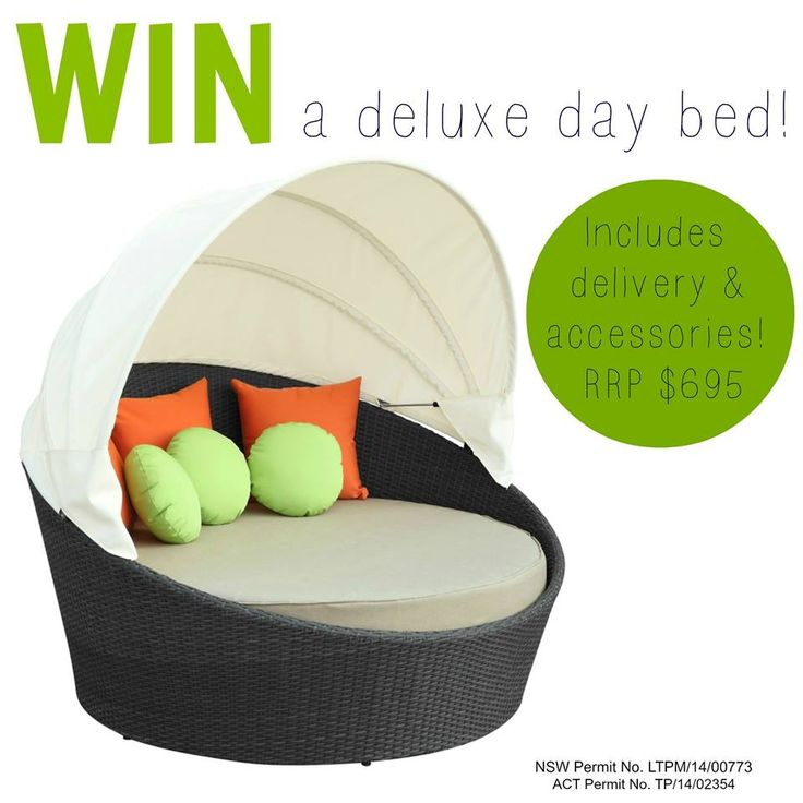Congratulations to Frances Platt - the lucky winner of our day bed competition!
