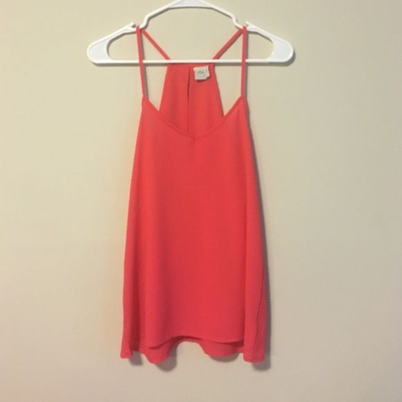 Paper Crane Red Tank Top Never worn! Bought it at a boutique. No tags on it Paper Crane Tops Tank Tops