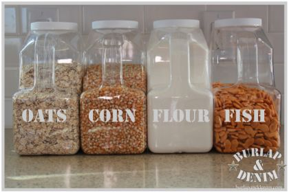 Repurpose Bulk Foods for Pantry Storage (aka my excuse to start eating massive amounts of popcorn)