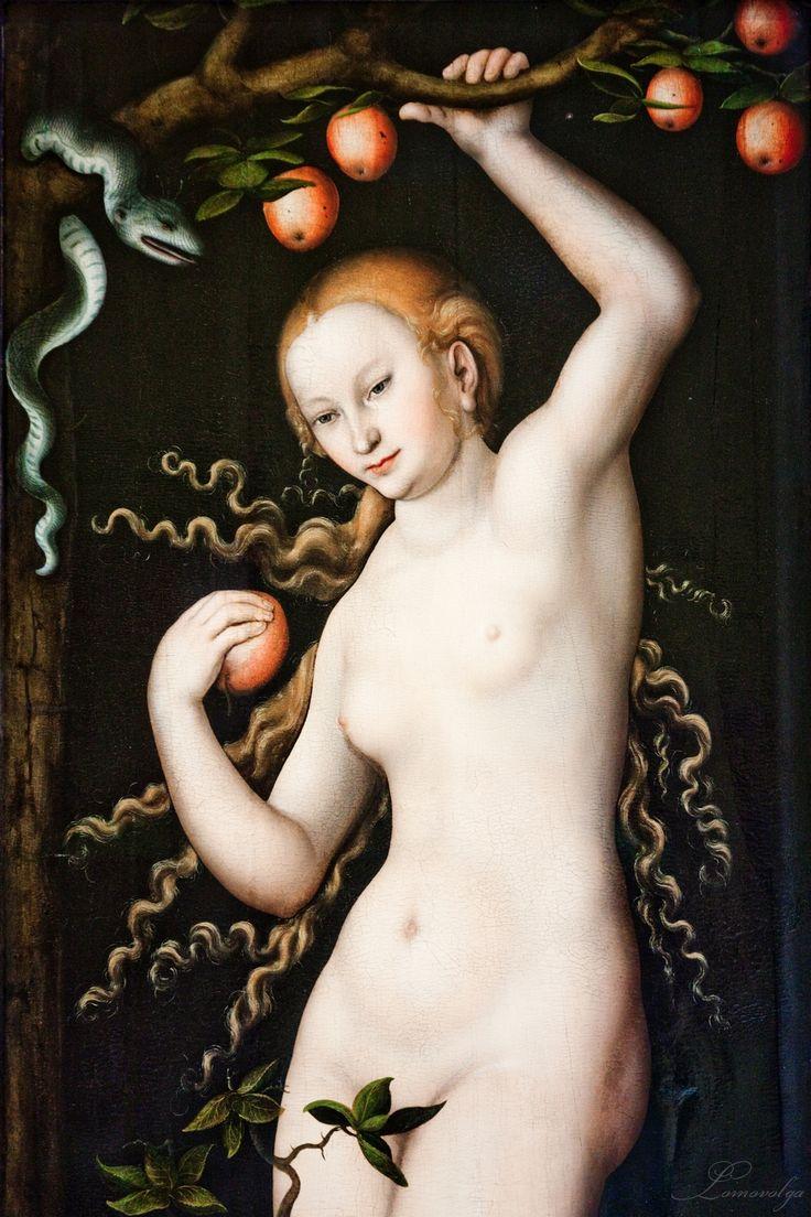 Lucas Cranach the Elder (1472-1553) Adam and Eve