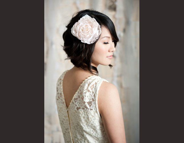 Coiffures de mariage pour cheveux courts !