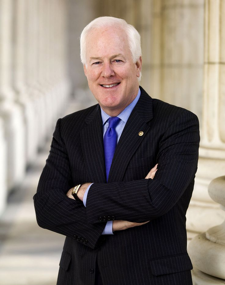 John Cornyn III 🚩B: 2/2/1952 is an American politician and the senior United States Senator from Texas, serving since 2002.John Cornyn - Wikipedia