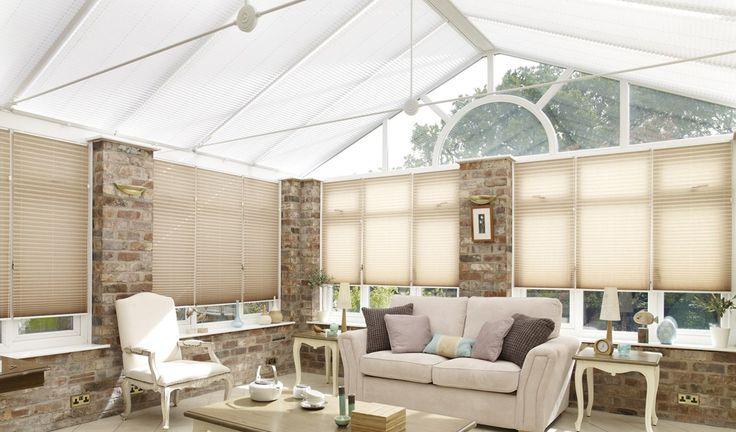 best 25 conservatory roof blinds ideas on pinterest. Black Bedroom Furniture Sets. Home Design Ideas