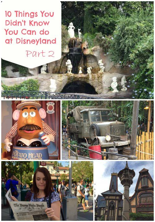 10 Things You Didn't Know You Can Do at Disneyland Part 2  www.getawaytoday.com www.packedwithfun.com
