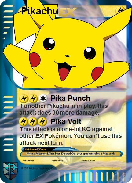 78 best Pokemon TCG images – Birthday Pikachu Card