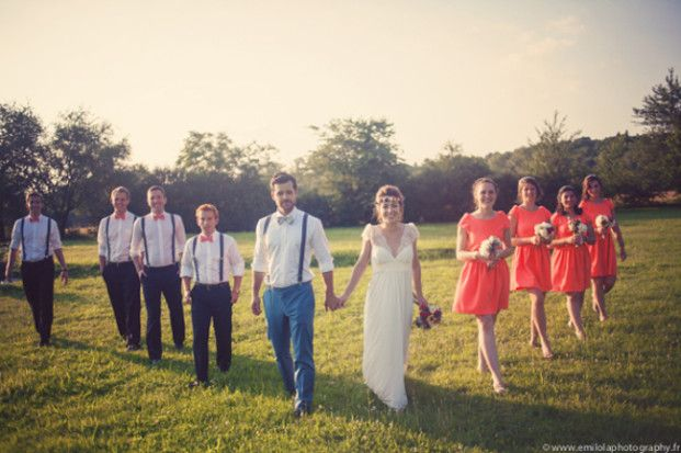 Un mariage au bord de la falaise au pays basque | la mariee aux pieds nus