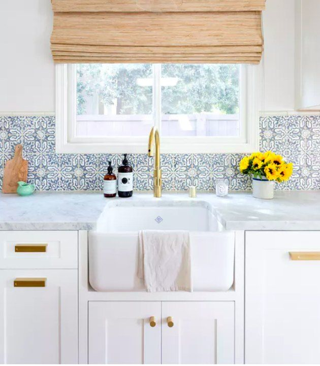 13 Perfect Ideas For Blue Kitchen Backsplashes With Images